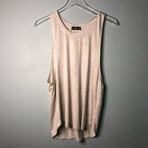 🌸 Boutique | soft gray muscle tank
